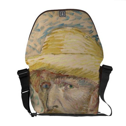 Vincent van Gogh - autorretrato Bolsas De Mensajeria