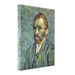 Vincent van Gogh - autorretrato con el oído cortad Impresion De Lienzo