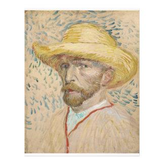 Vincent van Gogh - autorretrato Flyer A Todo Color