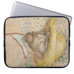 Vincent van Gogh - autorretrato Mangas Portátiles