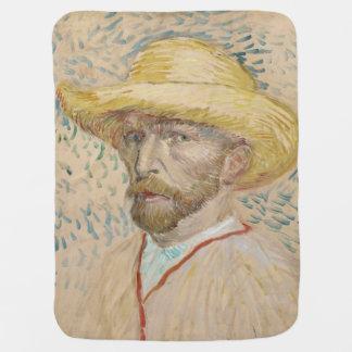 Vincent van Gogh - autorretrato Mantitas Para Bebé