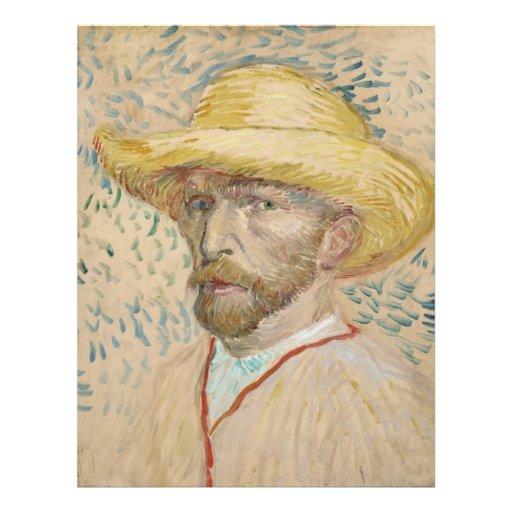 Vincent van Gogh - autorretrato Membrete Personalizado