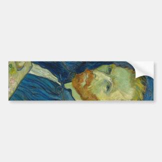 Vincent van Gogh - autorretrato Pegatina Para Auto