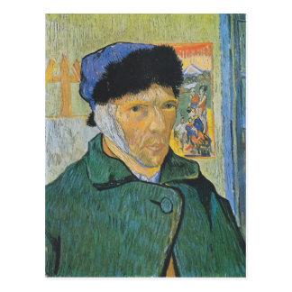 Vincent van Gogh - autorretrato Postal