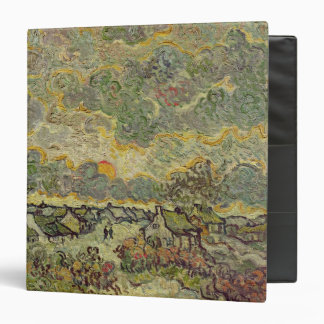 Vincent van Gogh | Autumn landscape, 1890 3 Ring Binder
