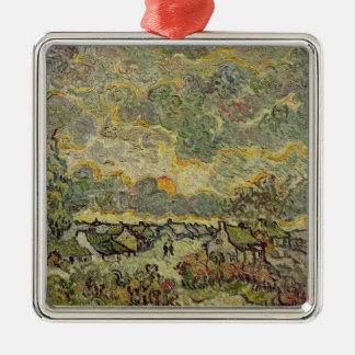 Vincent van Gogh | Autumn landscape, 1890 Metal Ornament