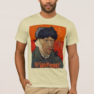 Vincent van Gogh Bandaged Ear T-Shirt