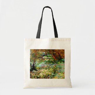 Vincent Van Gogh - Banks of the Seine in Spring Tote Bag