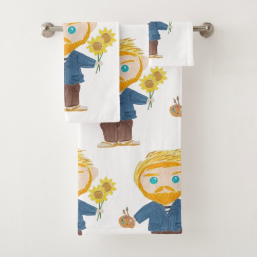 Vincent van Gogh Bath Towel Set