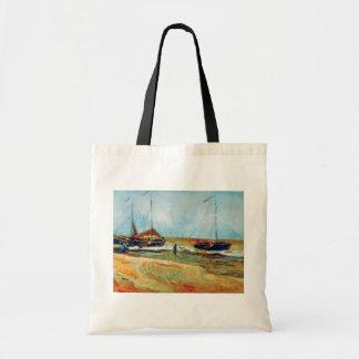 Vincent Van Gogh - Beach at Scheveningen Fine Art Tote Bag