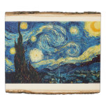 Vincent van Gogh Beautiful The Starry Night Wood Panel