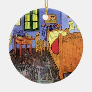 Vincent Van Gogh - Bedroom In Arles Fine Art Ceramic Ornament