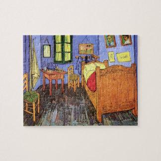 Vincent Van Gogh - Bedroom In Arles Fine Art Jigsaw Puzzle