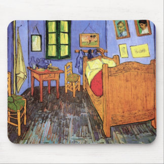 Vincent Van Gogh - Bedroom In Arles Fine Art Mouse Pad