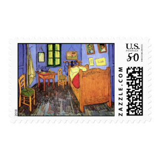 Vincent Van Gogh - Bedroom In Arles Fine Art Postage
