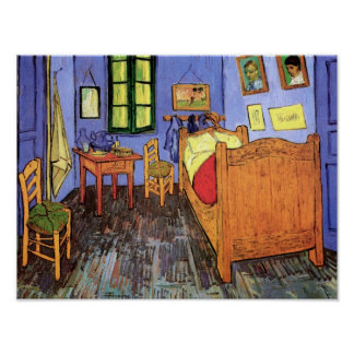 Vincent Van Gogh - Bedroom In Arles Fine Art Poster