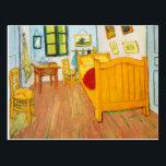 """Vincent Van Gogh - Bedroom in Arles Postcard<br><div class=""""desc"""">For Van Gogh Fans!</div>"""