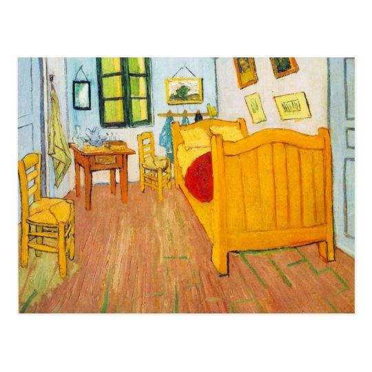 Van Gogh Bedroom In Arles: Vincent Van Gogh - Bedroom In Arles Postcard
