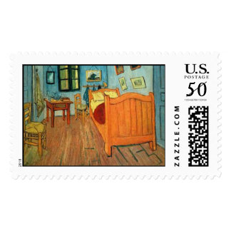 "Vincent van Gogh ""Bedroom in Arles (The Bedroom)"" Postage"