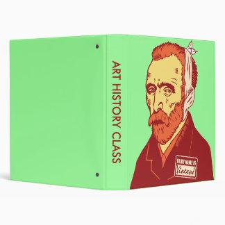 Vincent Van Gogh Binder