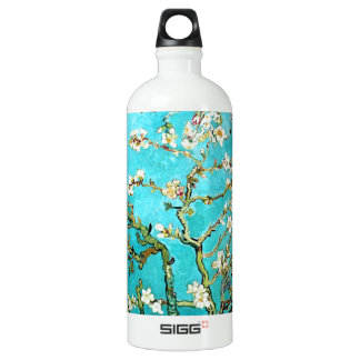 Vincent van Gogh Blossoming Almond Tree Aluminum Water Bottle