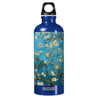 Vincent van Gogh, Blossoming Almond Tree Aluminum Water Bottle