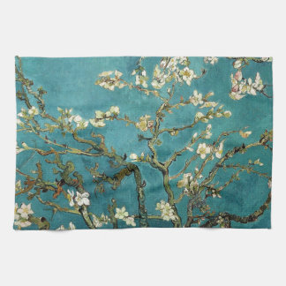 Vincent Van Gogh - Blossoming Almond Tree Blossoms Kitchen Towel