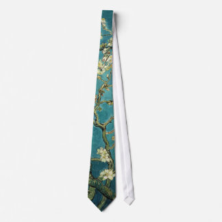 Vincent Van Gogh - Blossoming Almond Tree Blossoms Neck Tie