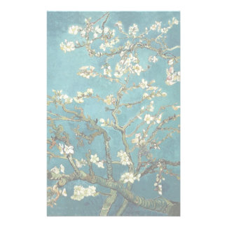 Vincent Van Gogh - Blossoming Almond Tree Blossoms Stationery