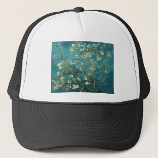 Vincent Van Gogh - Blossoming Almond Tree Blossoms Trucker Hat