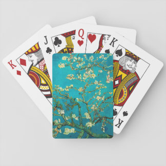 Vincent Van Gogh Blossoming Almond Tree Branches Poker Deck