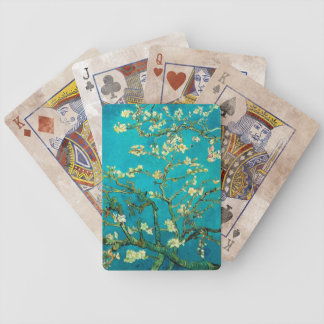 Vincent Van Gogh Blossoming Almond Tree Branches Bicycle Poker Deck