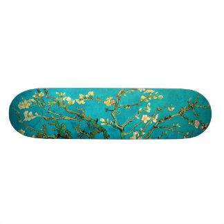 Vincent Van Gogh Blossoming Almond Tree Branches Skate Board