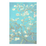 Vincent Van Gogh Blossoming Almond Tree Branches Customized Stationery