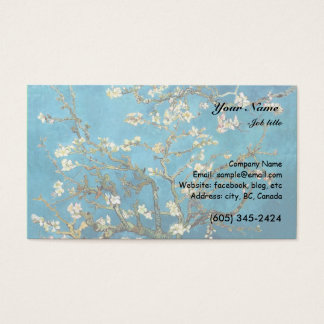 Vincent van Gogh, Blossoming Almond Tree Business Card