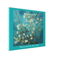 Vincent van Gogh, Blossoming Almond Tree Canvas Prints