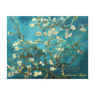 Vincent van Gogh, Blossoming Almond Tree Gallery Wrapped Canvas