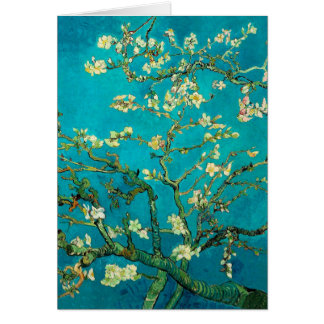 Vincent Van Gogh Blossoming Almond Tree Stationery Note Card