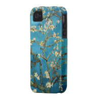Vincent van Gogh, Blossoming Almond Tree Case For The iPhone 4