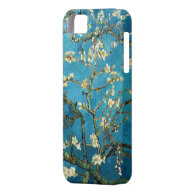 Vincent van Gogh, Blossoming Almond Tree iPhone 5 Cases