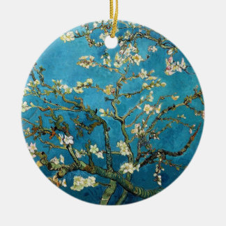 Vincent van Gogh, Blossoming Almond Tree Ceramic Ornament