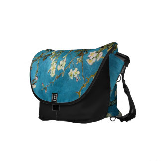 Vincent van Gogh, Blossoming Almond Tree Courier Bag