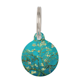 Vincent Van Gogh Blossoming Almond Tree Pet Tags