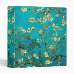 Vincent Van Gogh Blossoming Almond Tree Floral Art 3 Ring Binder