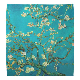 Vincent Van Gogh Blossoming Almond Tree Floral Art Bandana