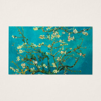Vincent Van Gogh Blossoming Almond Tree Floral Art Business Card