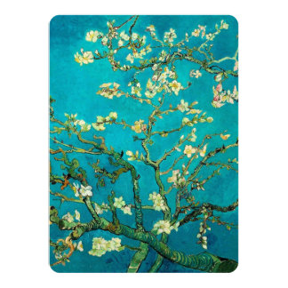 Vincent Van Gogh Blossoming Almond Tree Floral Art Card