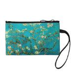 Vincent Van Gogh Blossoming Almond Tree Floral Art Change Purse