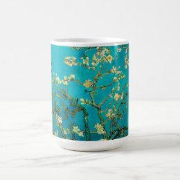 Vincent Van Gogh Blossoming Almond Tree Floral Art Coffee Mug