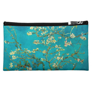 Vincent Van Gogh Blossoming Almond Tree Floral Art Cosmetic Bag